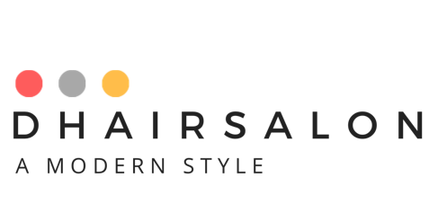 d hair salon barber logo