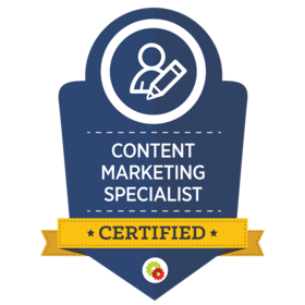 Content-Marketing Specialist Certified