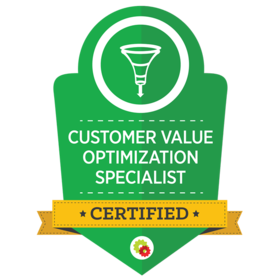 Customer Value Optimization Specialist certified
