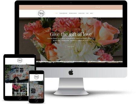 edens flower shop webdesign