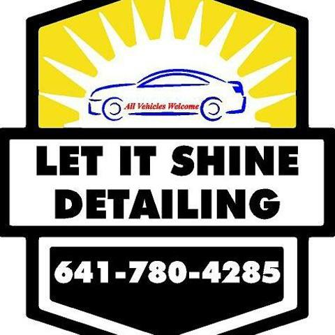 let it shine detailing logo